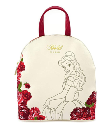 Beauty and the Beast Belle Bold as a Rose Mini Backpack