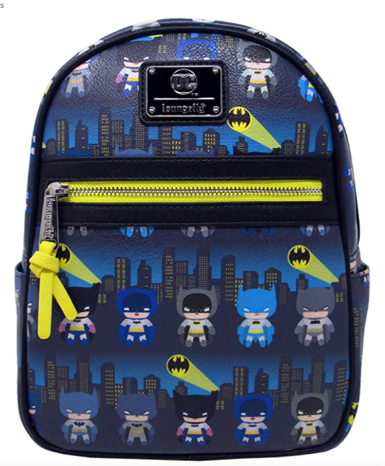 Batman 80th Anniversary Gotham City Chibi Mini Backpack