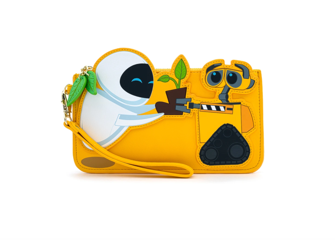 Pixar Wall-E & Eve Boot Plant Flap Wallet