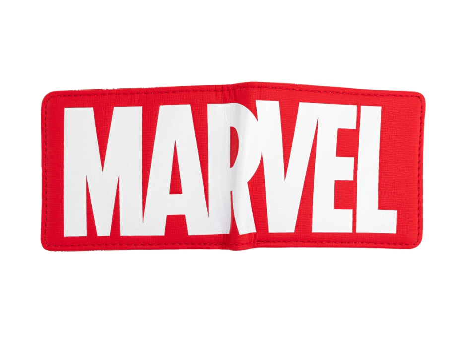 Marvel Red Brick Logo Bi-fold Wallet