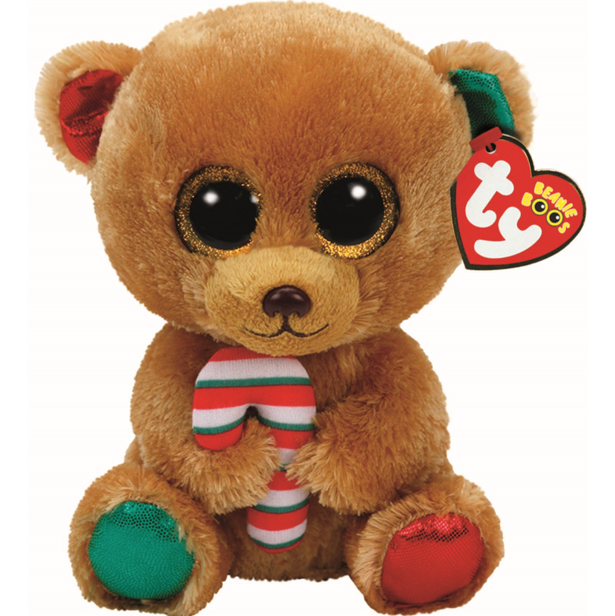 Ty Beanie Babies Boos Bella the Christmas Bear Boo Buddy