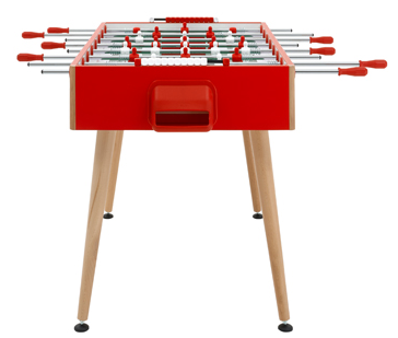 Flamingo Table Football Game - Red