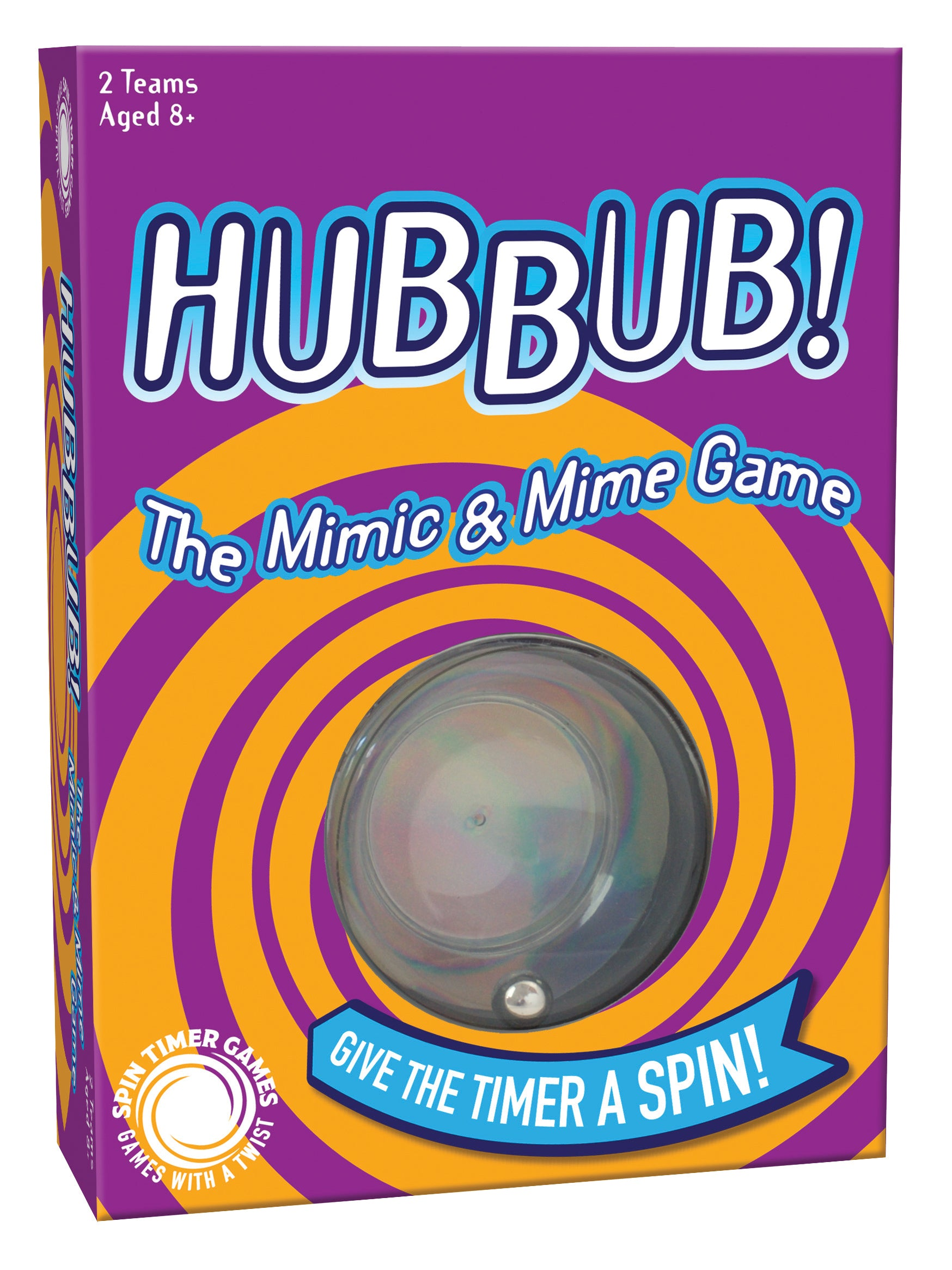 Cheatwell Games Hubbub - The Mimic & Mime Game
