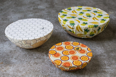 SuperBee Beeswax Wrap Beeginnerset Summer Vibes Set of 3