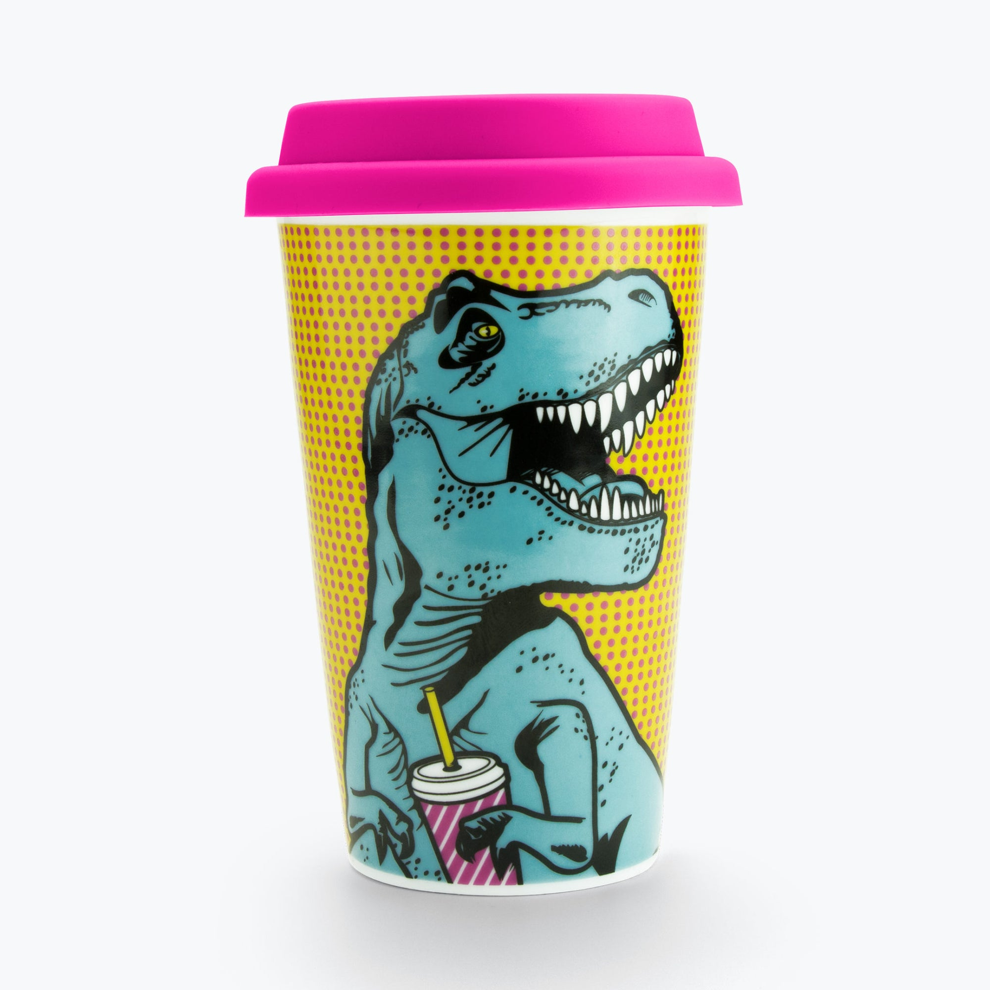 T-Rex Double Wall Mug