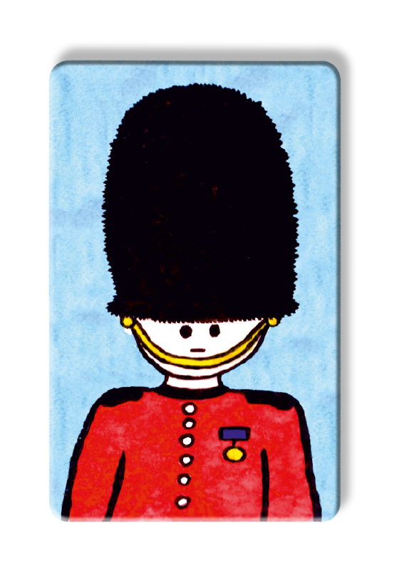 To Home from London Myne Card - Queens Guard