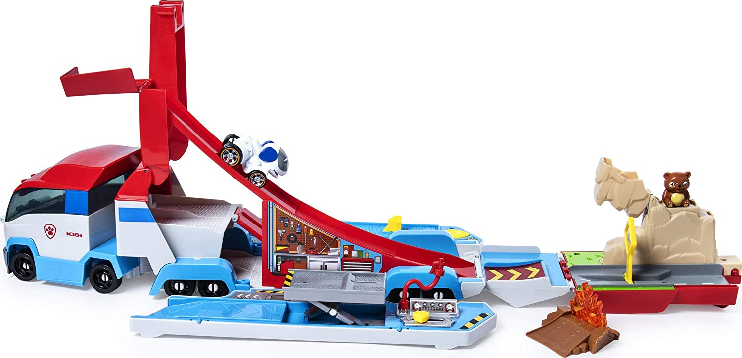"""TRUE METAL  PAW PATORLLER LAUNCH'n HAULER"""