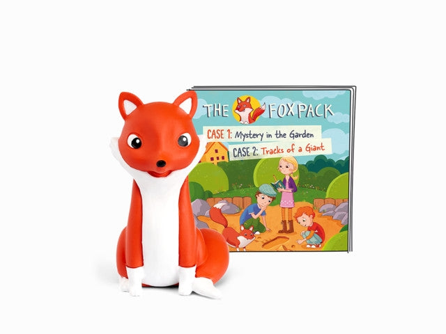 Tonies The Fox Pack - Mystery in the Garden / Tracks of a Giant