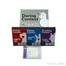 Daring Contest Party Game - Make It Weird. Then Make It Weirder