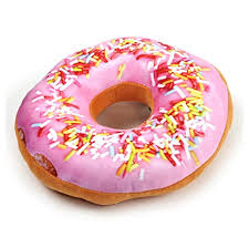 Replicushion Doughnut Sprinkles Cushion 24cm