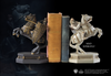 White Knight Bookend