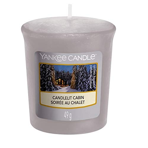 Yankee Candle Candlelit Cabin - Votive Candle