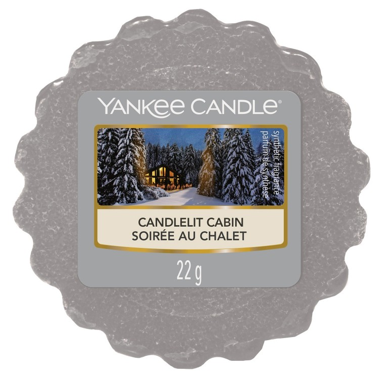 Yankee Candle Candlelit Cabin - Wax Melt