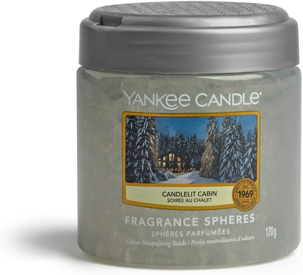 Yankee Candle Candlelit Cabin Fragrance Sphere