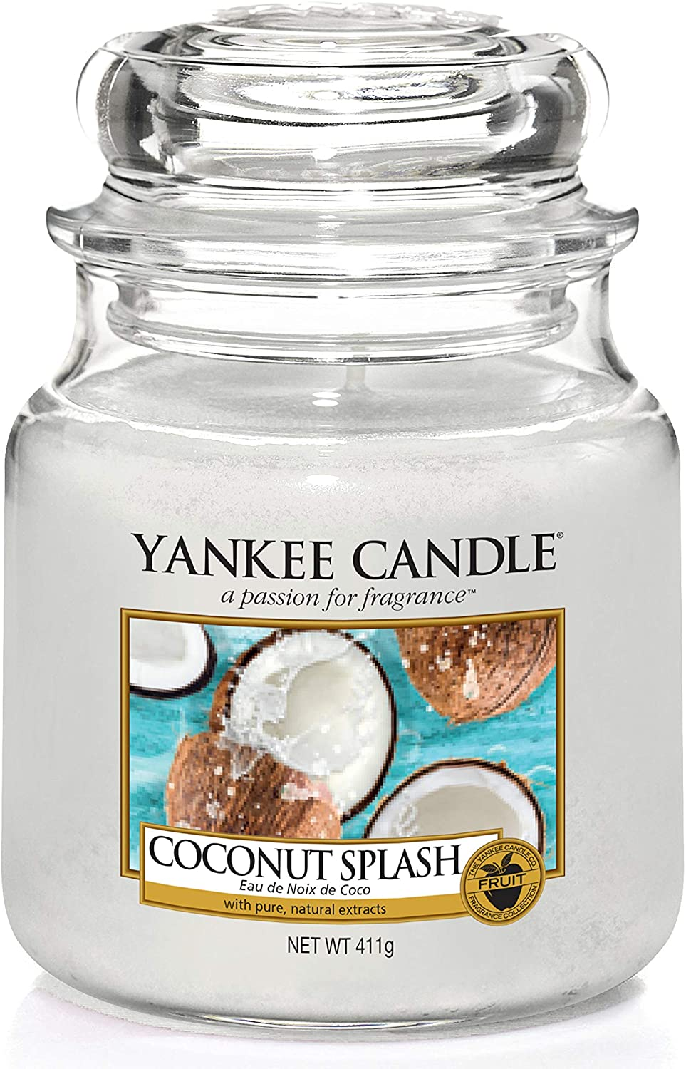Yankee Candle Coconut Splash - Medium Jar