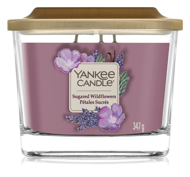Yankee Candle Sugared Wildflowers - Medium Elevation Candle