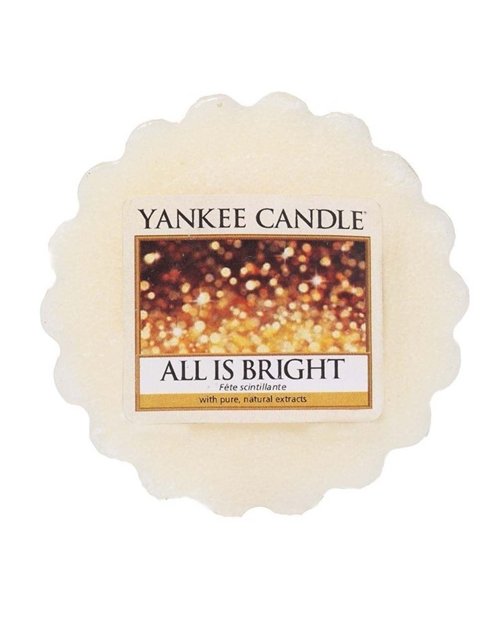 Yankee Candle All is Bright - Wax Tart