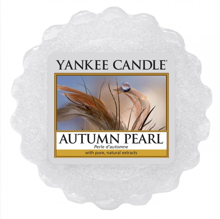 Yankee Candle Autumn Pearl - Wax Tart