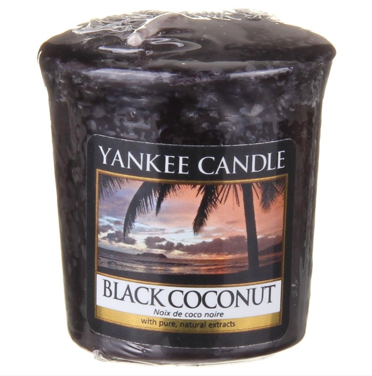 Yankee Candle Black Coconut - Votive Candle