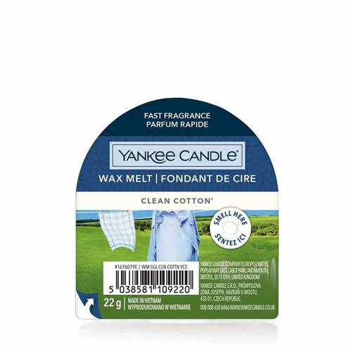 Yankee Candle Wax Melts  - Clean Cotton