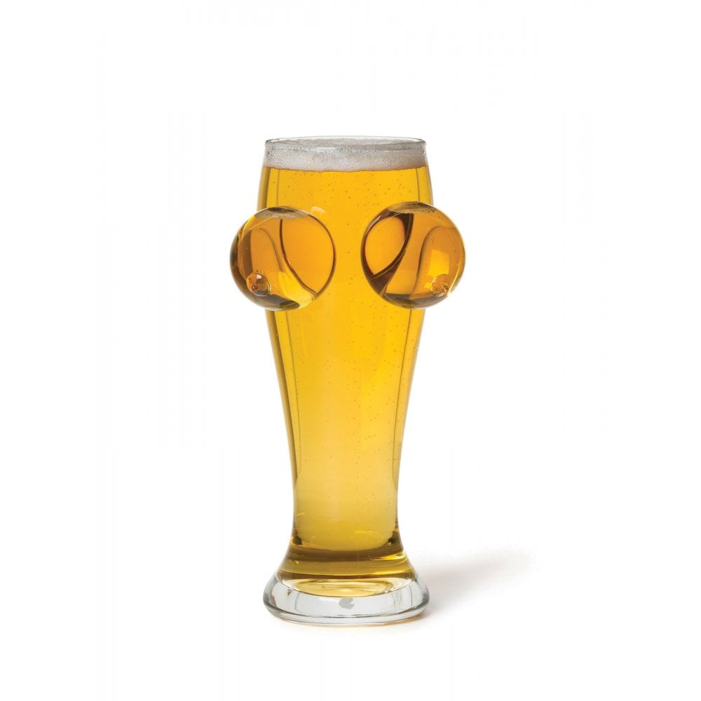 BigMouth Inc. - Boobies & Brewskis Beer Glass