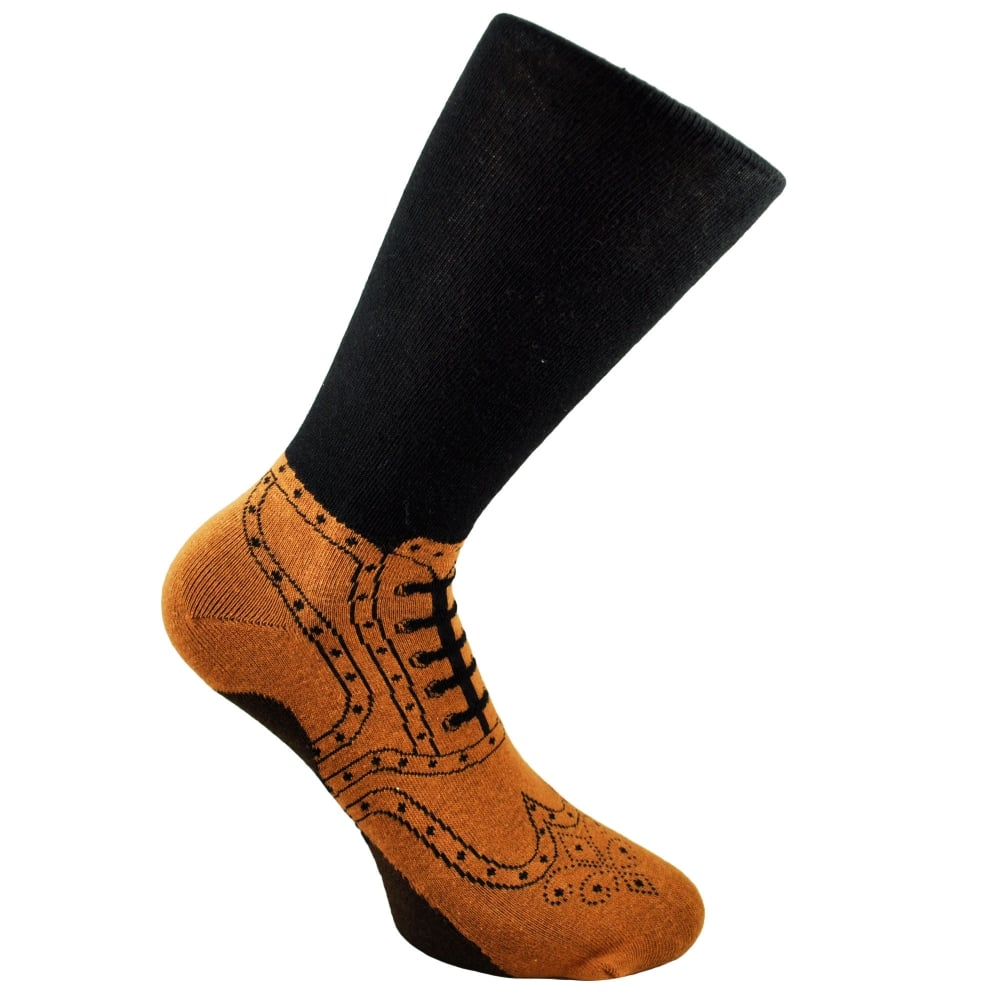 Novelty Brogue Socks One Size