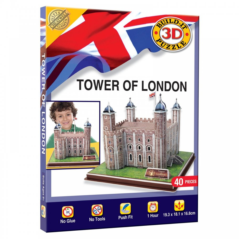 Build It 3D Puzzle - Tower of London