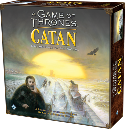 Catan Games of Thrones - Brotherhood of the Watch