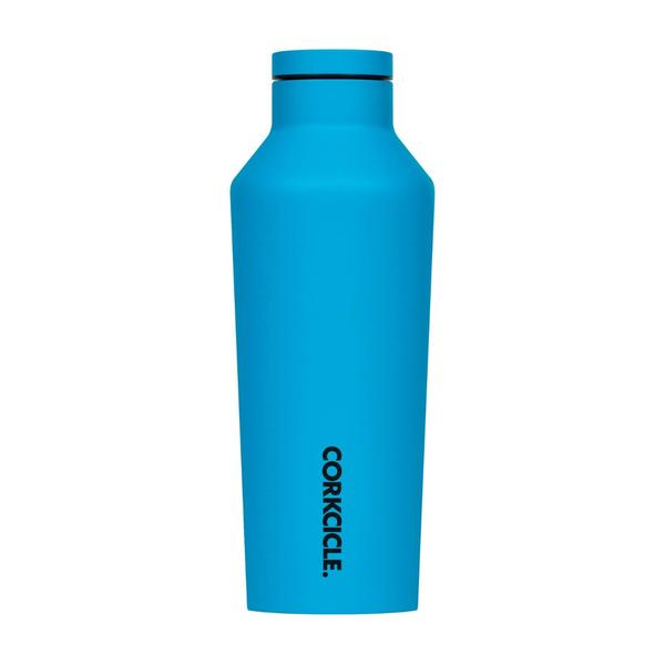 Corkcicle Canteen 9OZ/265ML - Neon Lights Neon Blue