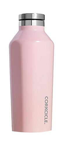 Corkcicle Canteen 9OZ/265ML - Gloss Rose Quartz