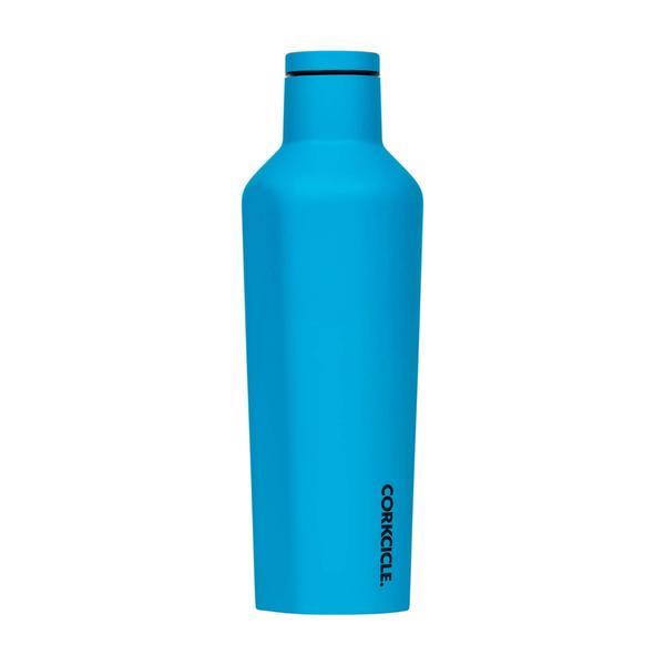 Corkcicle Canteen 16OZ/475ML - Neon Lights Neon Blue
