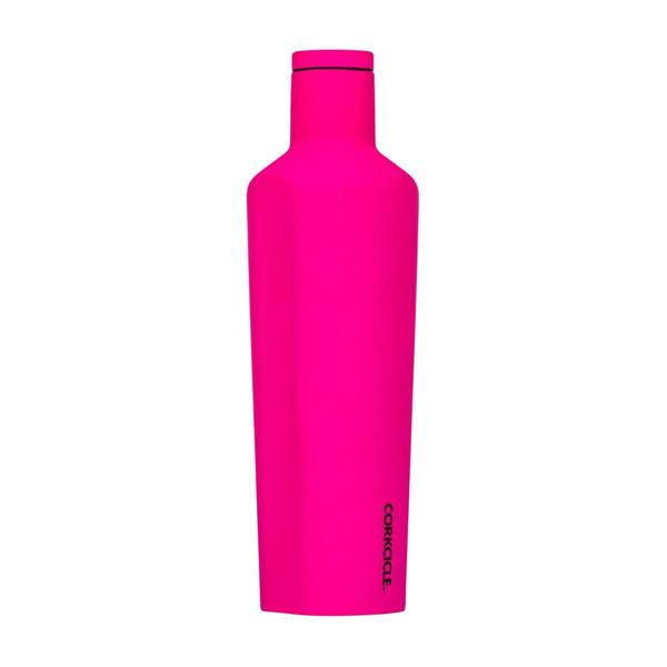 Corkcicle Canteen 16OZ/475ML - Neon Lights Neon Pink
