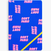 Yes Studio A5 Don't Panic Notebook