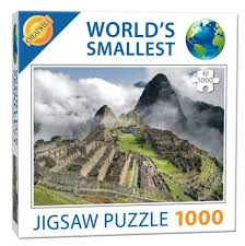World's Smallest Puzzles - Machu Picchu