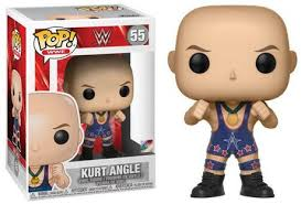 WWE - Kurt Angle in Ring Gear Pop! Vinyl Figure