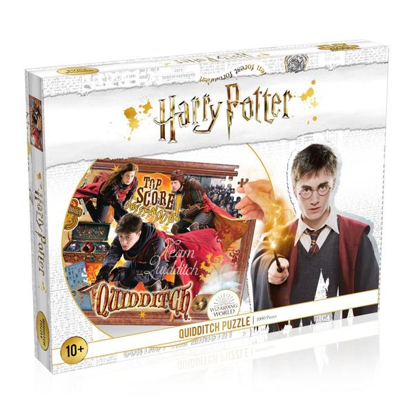Harry Potter Quidditch 1000 Piece Jigsaw
