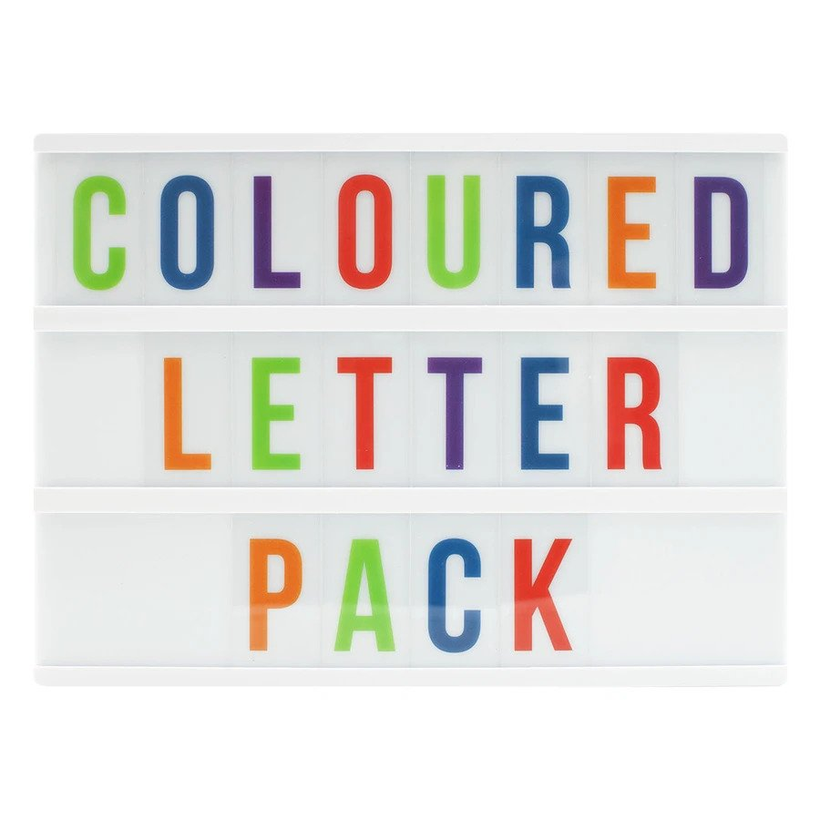 A6 Coloured Letter pack