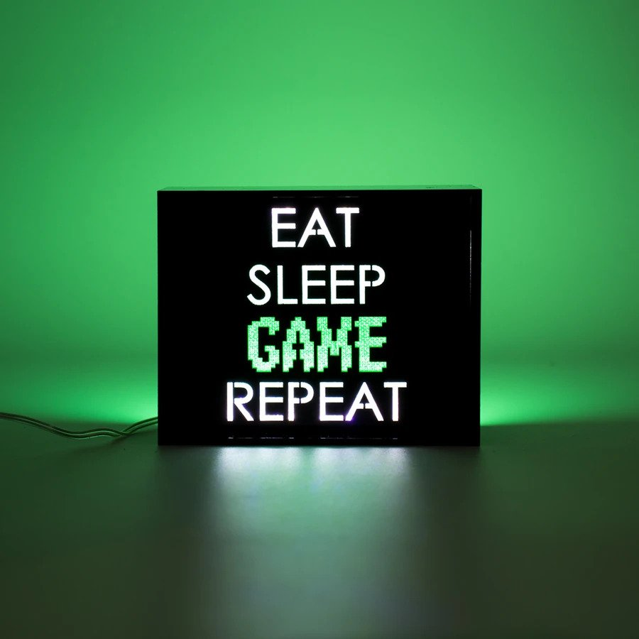 Mini Acrylic Box LED - Game Repeat