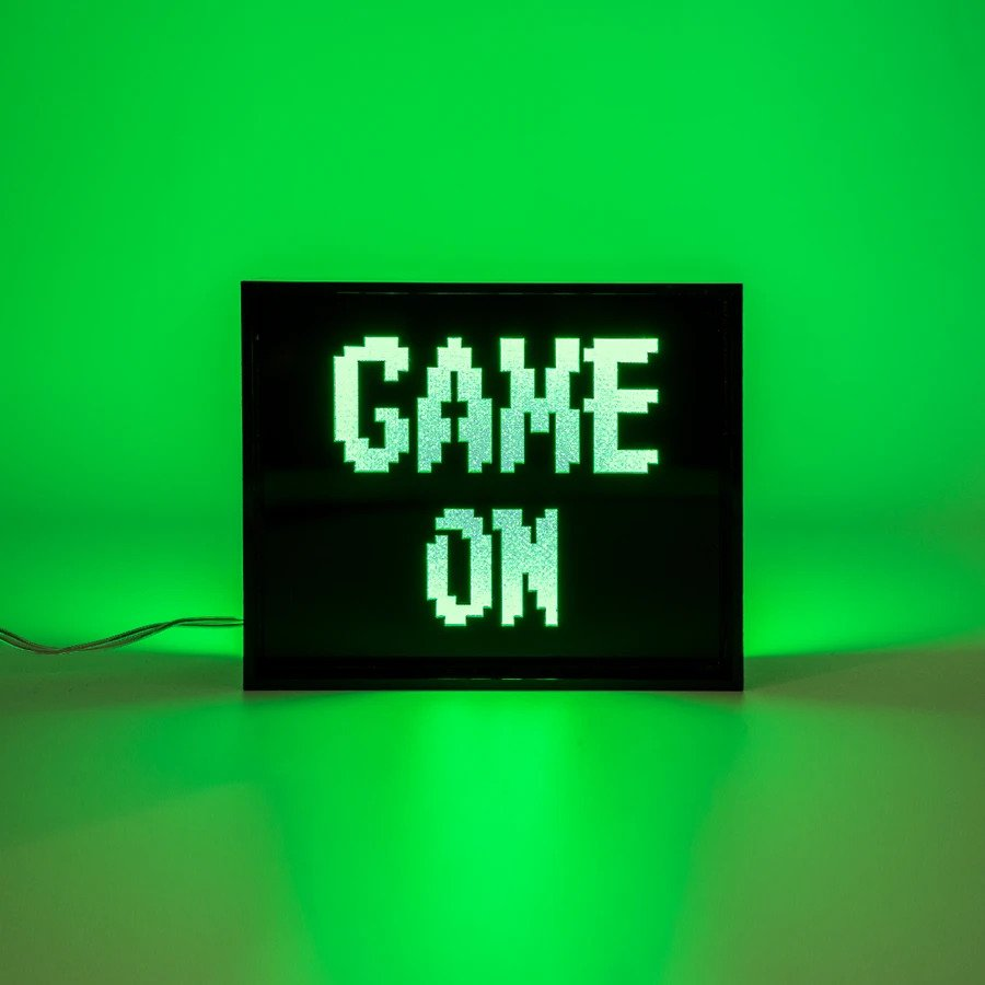 Mini Acrylic Box LED - Game On