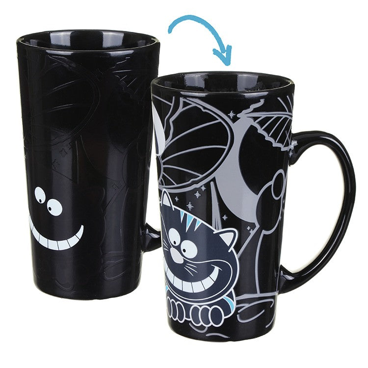 Gift Republic Colour Changing Cheshire Cat Mug