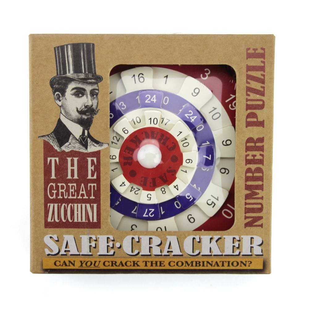 Cheatwell Games The Great Zucchini Safe Cracker Number Puzzle