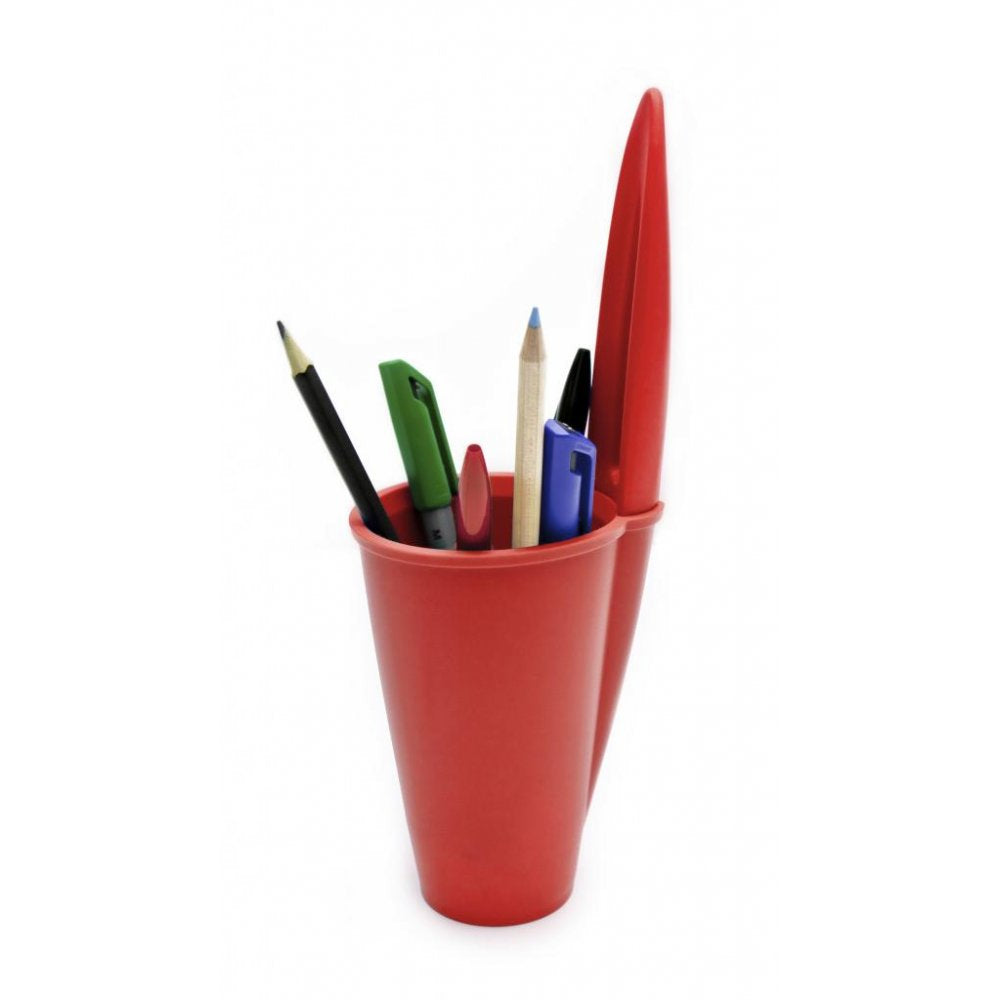 j-me Bic Pen Lid Holder Red