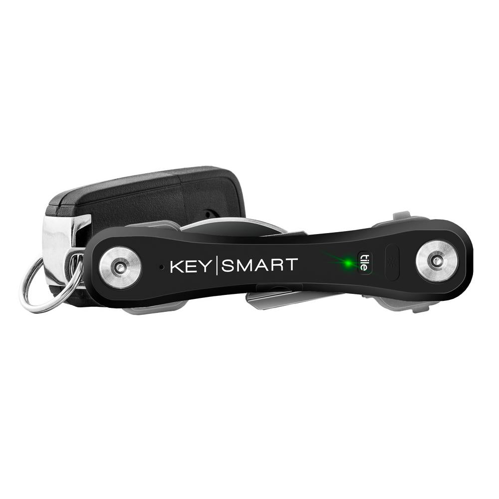 KeySmart Pro with Tile Smart Location - Black