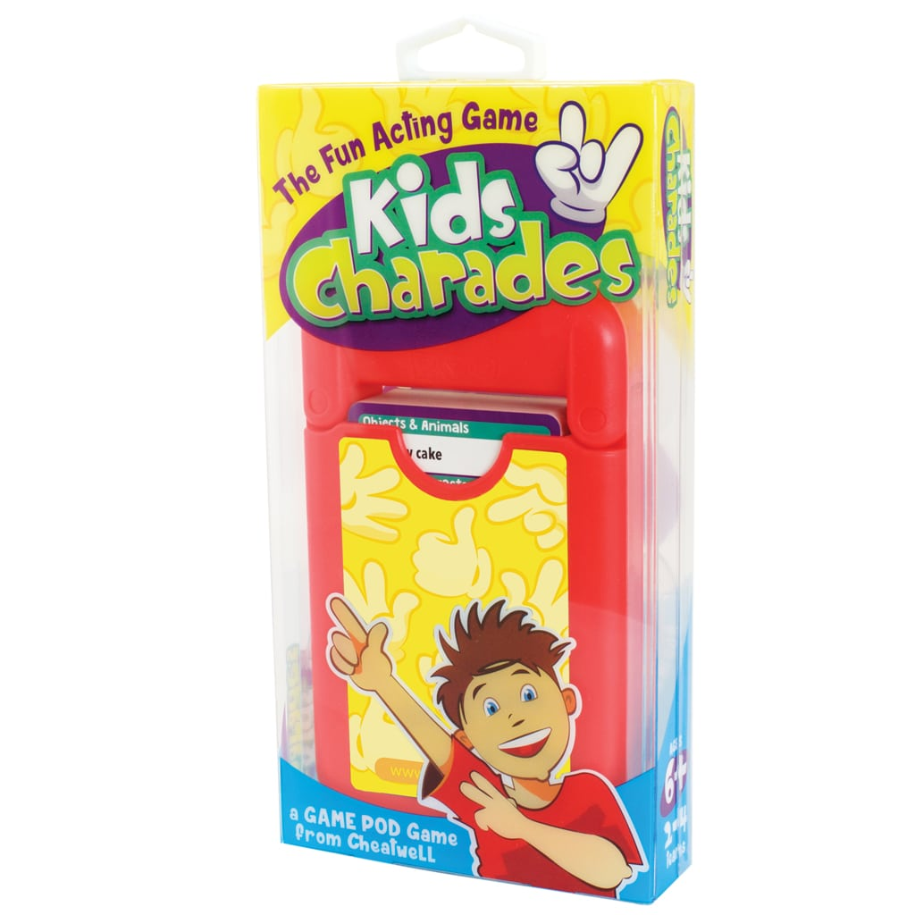 Cheatwell Games Kids Charades Game Pod