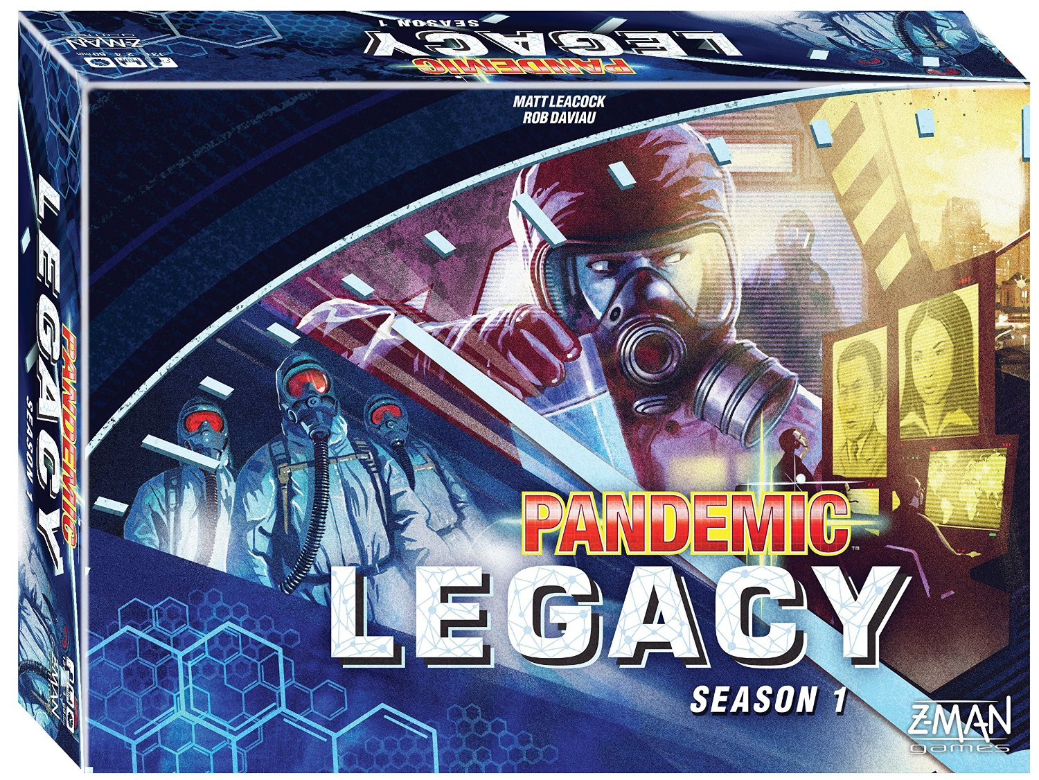 BLUE - Pandemic Legacy Season 1