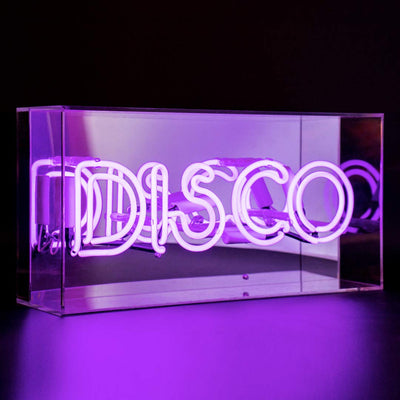 Locomocean Acrylic Box Neon - Disco Purple