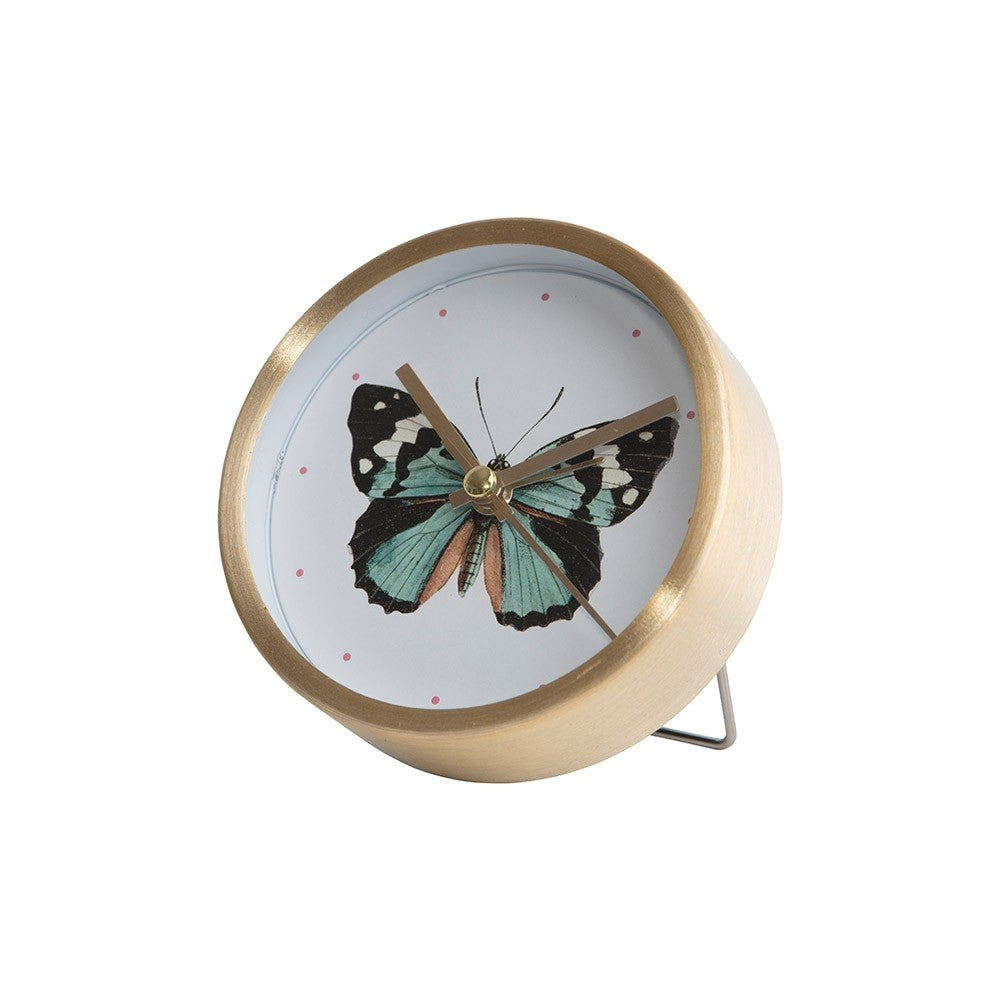 Table Clock - Butterfly