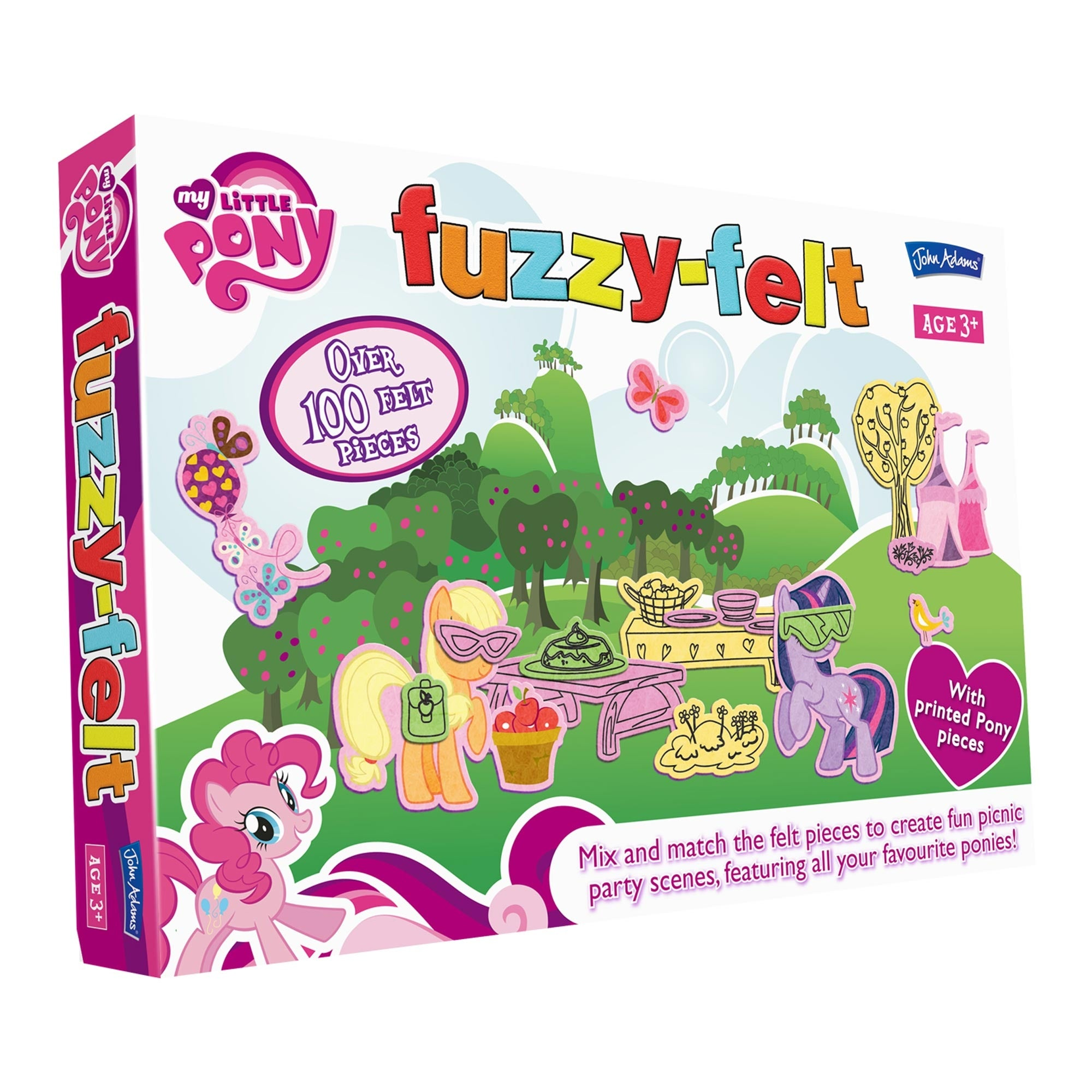 Fuzzy-Felt My Little Pony