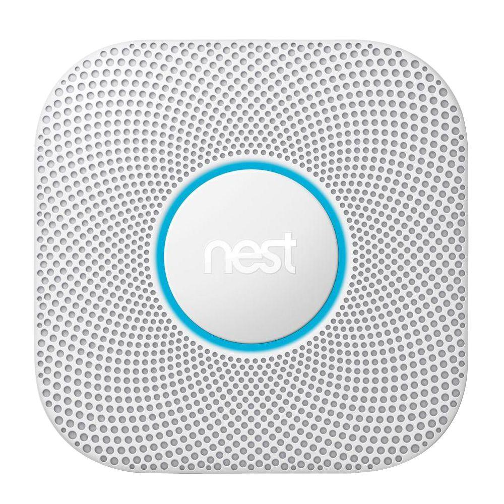 Google Nest Protect - 2nd Generation Smoke & Carbon Monoxide Alarm (Wired)