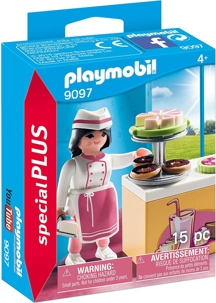 e39cd263a7f Playmobil Special Plus Pastry Chef – Squizzas